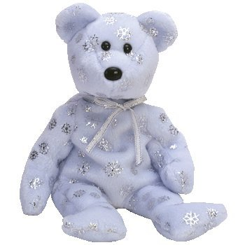 Ty Beanie Babies - Flaky the Bear