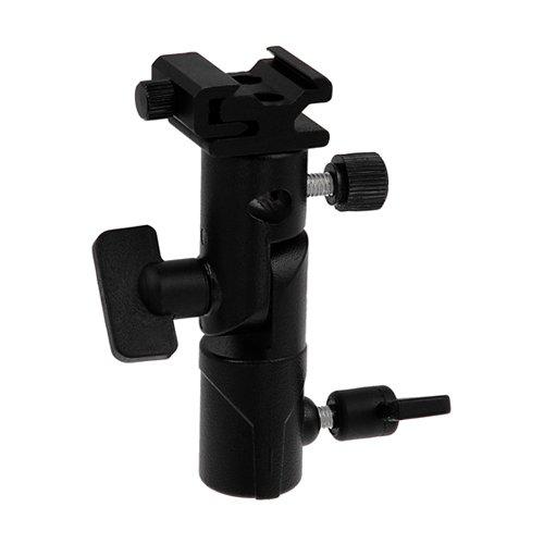 Fotodiox Elite Flash Umbrella Bracket -- With Swivel/Tilt Head, Mountable to Lightstand and Tripod fits Olympus Flash FL-36R, FL-50R, Panasonic Flash DMW-FL360, and FL-500