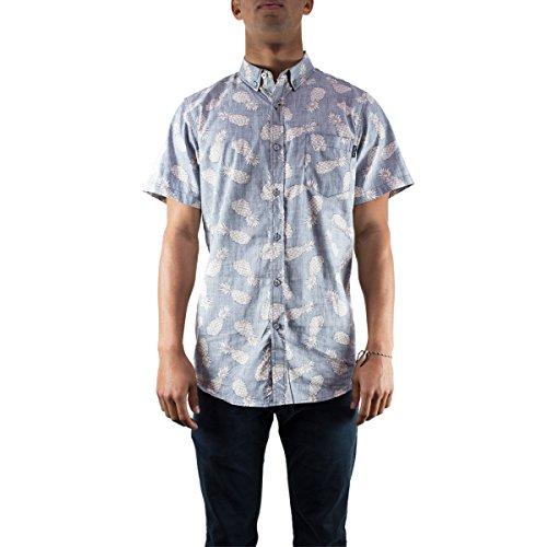 [Molokai Mens Button Down Shirt Pineapple, x-large] (Xxl Santa Suits For Sale)