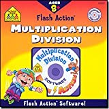 SCHOOL ZONE Flash Action Multiplication And Division for Windows and Macintoshby School Zone