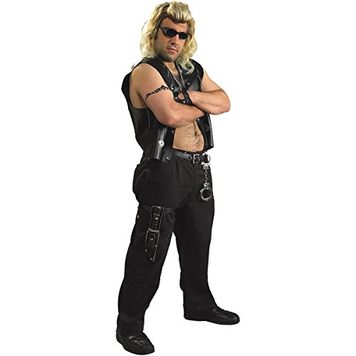 Dog The Bounty Hunter Adult Costume Set With Dog & Beth