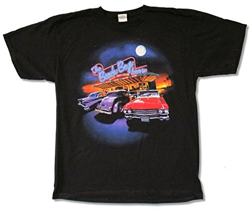 Adult The Beach Boys Drive-In Tour (Verona-Harrisonburg) Black T-Shirt (Medium) (Beach Boys Merchandise compare prices)