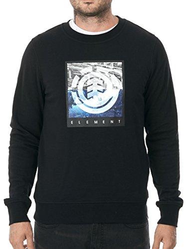 Felpa Element: Flow Cr - Flint Black BK L