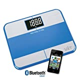 WiTscale S1F Bluetooth Digital Bathroom Scale Body Fat w/ Large Backlit Dis ....