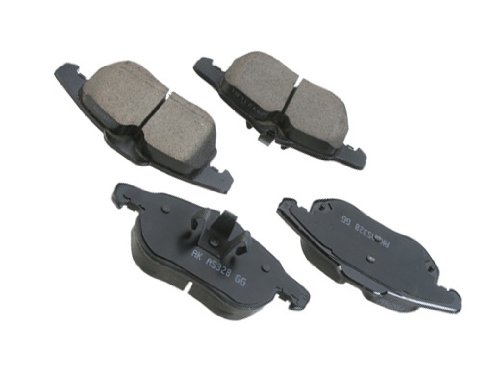 Saab 93 (03-11 w/ 302mm disc) Brake Pad Set Front CERAMIC friction linings