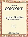 img - for Giuseppe Concone Lyrical Studies for Trumpet or Horn book / textbook / text book