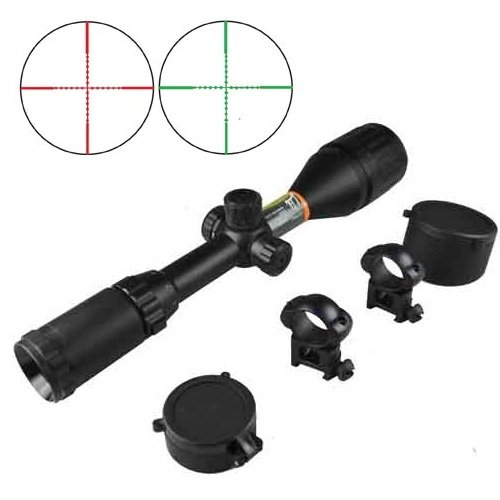 Rifle Scope Crosman Adventure 3-9X50Mm Mil-Dot Range, Adjustable Objectives