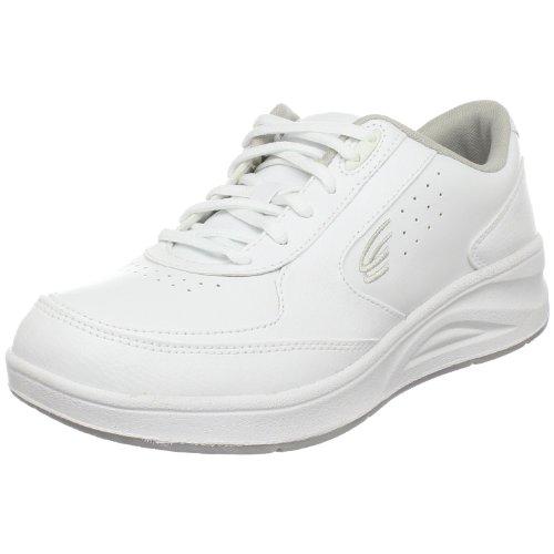 Spira Women'S Wavewalker Cushioned Walking Shoe,White / White,12 M Us