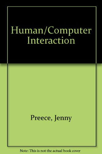 Human-Computer Interaction: Selected Readings : A Reader