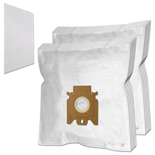 10 Staubsaugerbeutel / Staubbeutel / Filtertüten geeignet für Miele S4212, S4510, S4712, S5260, S4212, Plus, S4511, S4780, S5261, S4221
