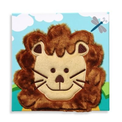 Studio Arts Kids Lion Embellished Wall Art - 1