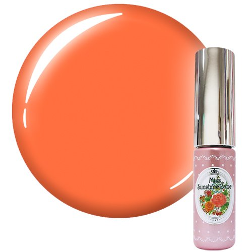 MissSunshineBabe カラージェル MCー33 サマーパステルオレンジ 5g