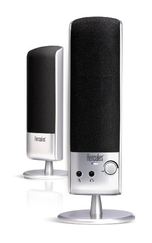 Hercules 4769177 XPS 2.0 10 2.0 Multimedia Speakers (Silver)