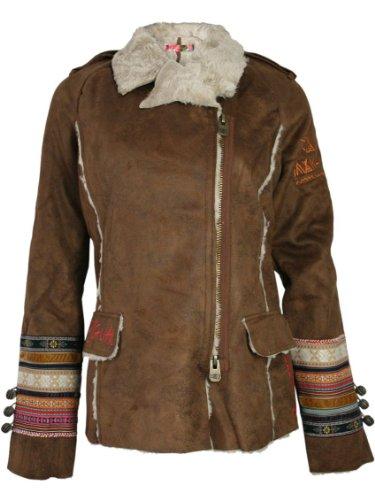 achat manteau desigual desigual femme designer vest. Black Bedroom Furniture Sets. Home Design Ideas