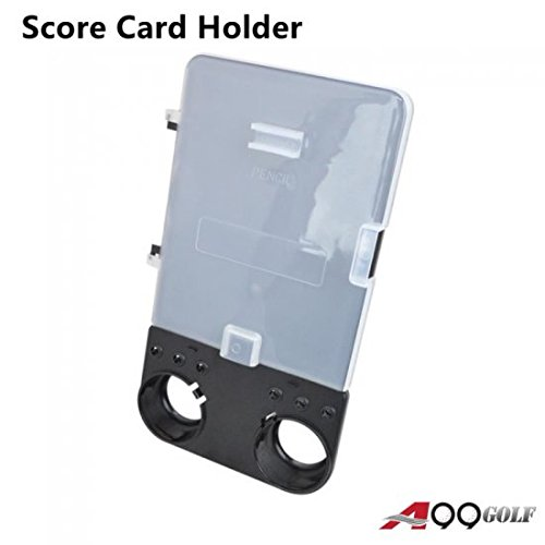 A99 Golf Trolley Score card Holder Kit - fit your golf cart easily (Golf Trolley compare prices)