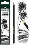 Faber Castell 6 Pc Drawing Pencil Set - Pack Of 4