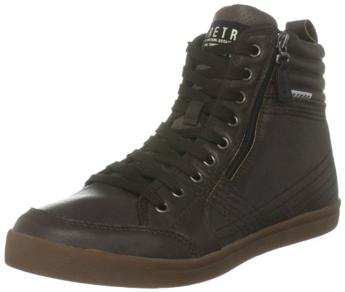 Firetrap Men's Desert Court Hi 3 Brown Fashion