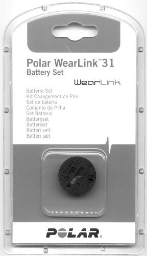 Cheap Polar Battery WearLink+ heart rate monitor accessories grey (B000F7LBE2)