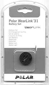 Polar Battery WearLink+ heart rate monitor accessories grey