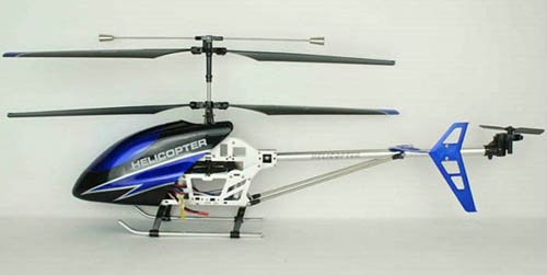 2.4G Double Horse Shuang Ma 9118 Helicopter 3.5ch BLUE Radio Control w/ Gyro NEW
