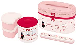 Bento: Kiki Delivery Service Thermal Lunch Box Set (Food Containers, Fork and Bag) (japan import)