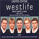 Disco de Westlife - What Makes a Man (Anverso)