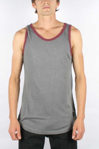 Fyasko - Mens Clean Tank Top in Heather Grey, Size: Large, Color: Heather Grey