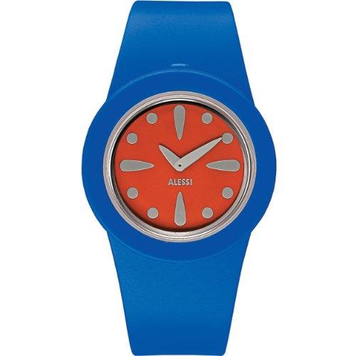 Alessi - AL1015 - Montre Mixte - Automatique - Analogique - Bracelet Plastique Bleu