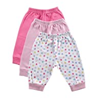 Luvable Friends 3-Pack Baby Pants, Pi…