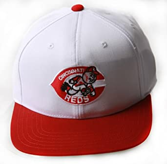 Cincinnati Reds MLB Adjustable Snapback Closure Hat, White Red + Includes GT... by Team MLB