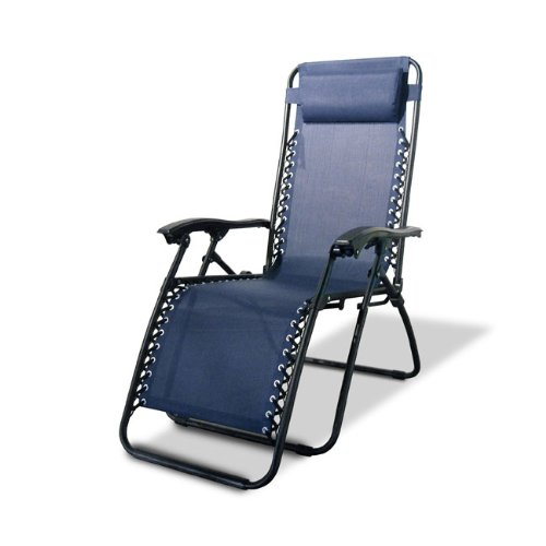 Caravan Canopy Oversized Zero Gravity Chair, Blue