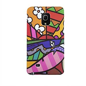 UAM Back Cover for Samsung Galaxy Mega 5.8 I9150 (Multicolor)