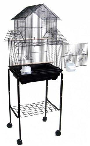 Canary Parakeet Cockatiel LoveBird Finch Bird Cage - 18