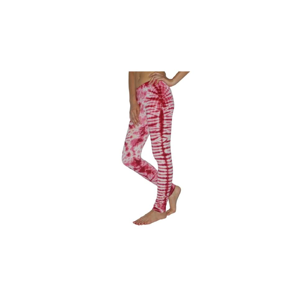 Women Thai Fashion Cute Stretchy Cotton Skinny Pants Leggings / Footless Tights   Pink (Size S)