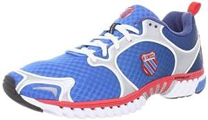 K-Swiss Kwicky Blade-Light S, Chaussures de running homme - Bleu (Blue Fade/Red/Silver), 43 EU