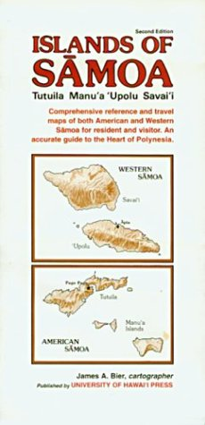 Islands of Samoa: Reference Map of Tutuila, Manu'A, 'Upolu, and Savai'I