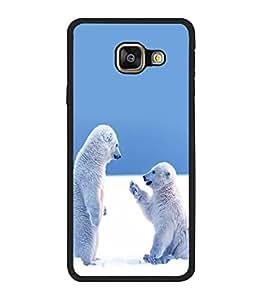printtech Snow Polar Bears Back Case Cover for Samsung Galaxy A5 (2016) :: Samsung Galaxy A5 (2016) Duos with dual-SIM card slots