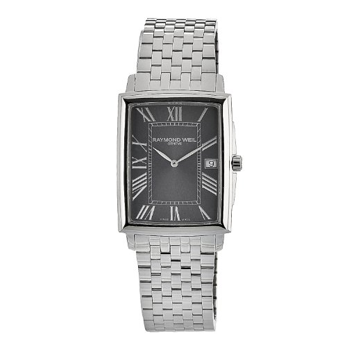 Raymond Weil 5456-ST-00608 30mm Silver Steel Bracelet & Case Anti-Reflective Sapphire Men's Watch