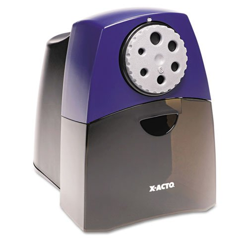 X-Acto - Teacher Pro Electric Pencil Sharpener, Bue/Black 1675 (Dmi Ea