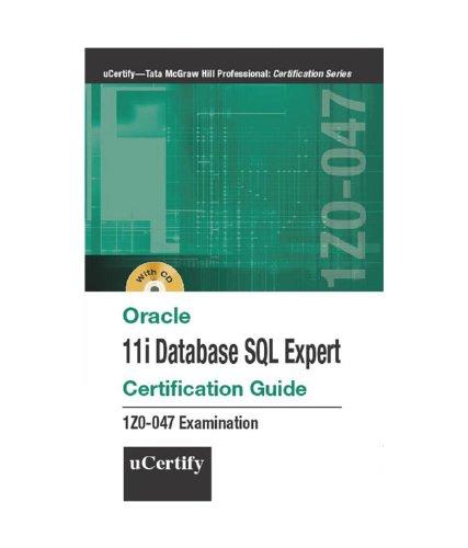 Exam 1Z0-047 — Oracle Database SQL Certified Expert