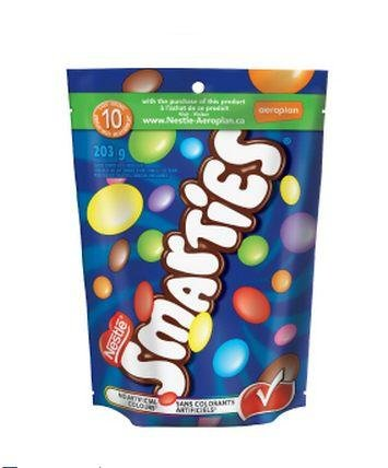 Nestle Smarties 203 Gram Bag – Imported from Canada Reviews