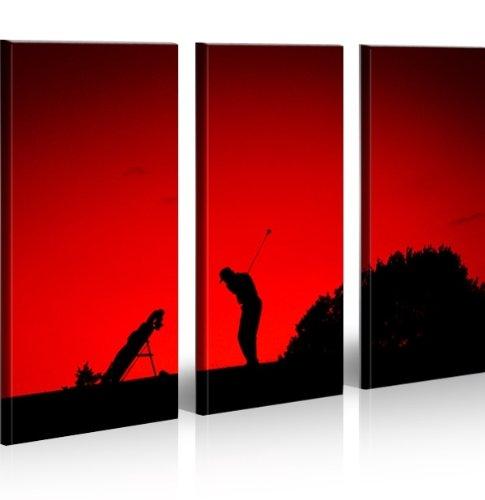 Bilder auf Leinwand Golfing Golf Sport Kunstdruck