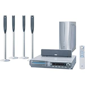 JVC THC6 Home Theater System with 5-Disc DVD Player (Discontinued by Manufacturer)
