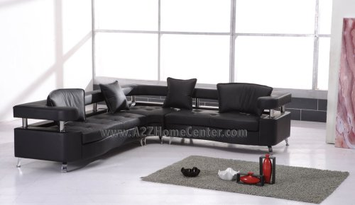 Cheap Elegant Modern Contemporary Black Leather