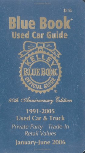Kelley Blue Book Used Car Guide: January-June