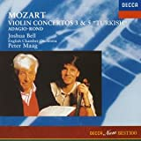 モーツァルト:ヴァイオリン協奏曲第3番&第5番