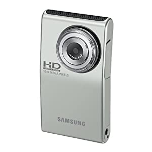 Samsung HMX-U10 Ultra-Compact Full-HD Camcorder with 10 MP Still (Green)