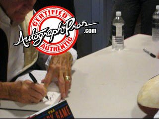 Frank Gifford Autographed Signed The Glory Game Book & Proof - Autographed NFL Magazines