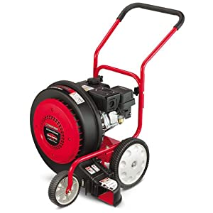 Troy-Bilt TB 672 208cc OHV Gas Powered Jet Sweep Walk Behind Wheeled Leaf Blower (Discontinued by Manufacturer)