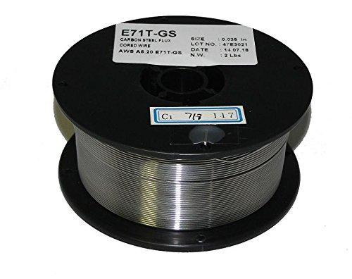 WeldingCity E71T-GS Flux-Core Gasless Mild Steel MIG Welding Wire 0.030